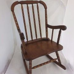 Jenny Lind Rocking Chair Covers Wedding Near Me Vintage Wooden Style Child S 83 88