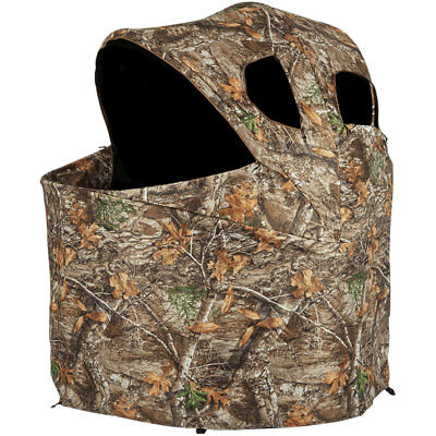 ameristep chair blind joie ollie owl high durashell plus portable camouflage deluxe hunting tent
