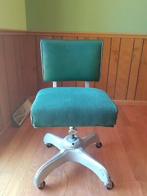 steelcase vintage chair twin bed industrial desk office swivel tanker mid century modern