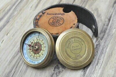 Stanley London Pocket Compass 1885