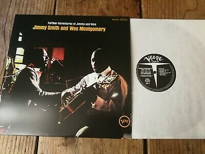 Jimmy Smith And Wes Montgomery – Further Adventures Of Jimmy And Wes 180 grams