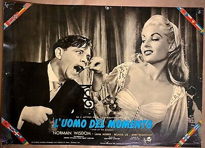 THE MAN OF THE MOMENT - Lobby Card Envelope - Norman Wisdom, Lana Morris - 1955