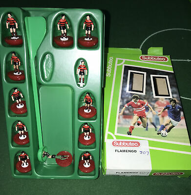 Subbuteo Lw Mp Team Flamengo Brand New Mint Condition In Very Good  Box