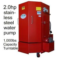 Dee Blast Parts Washer Cabinet High Pressure Aqueous ...