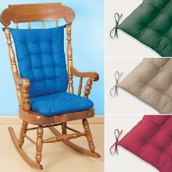 2 Piece Rocking Chair Cushions The Gesture Cushion Padded Set Comfy 4 Colors Pieces Universal Indoor