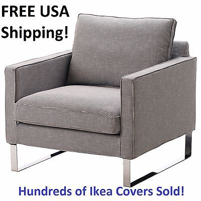 ikea usa chair covers folding mellby armchair cover slipcover eldris black white new sealed