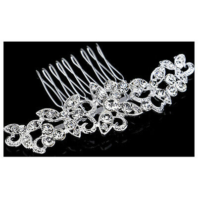 8x6 cm flower wedding or party pearl crystal hair b eur 3 37 picclick ie
