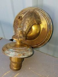 vintage Brass Sconce electric Wall Vintage Lamp  9.00