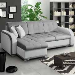 Corner Sofa Bed Oslo Mini Storage Container Sleep Function New Cheap Sleeper Sectionals Avio Universal Side
