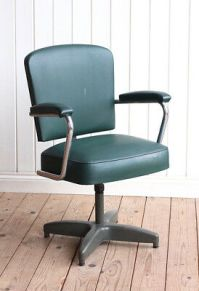 Mid Century Industrial Architects Drawing Swivel Chair   ...