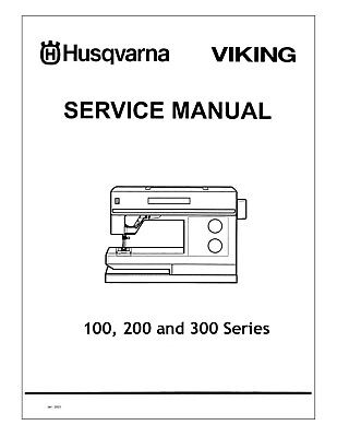 HUSQVARNA VIKING #1+ / 1250 Service manual (+ Embroidery