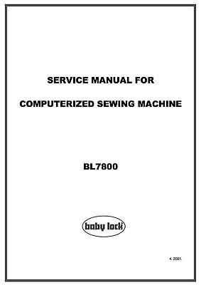 PDF BABY LOCK BL-101 Simplicity BH600 Blindhemmer Service