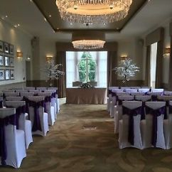 Chair Covers Wedding Yorkshire Office Velvet Self Hire Ruffle Hoods West Leeds Sashes Bows Satin Pontefract