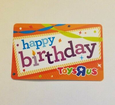Toys R Us Birthday Gift Card Billingss