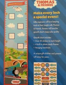 Thomas and friends watch me grow growth chart also picclick rh