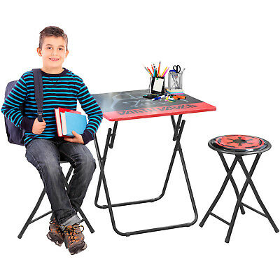 portable study chair on workout star wars folding desk set durable area table seat new