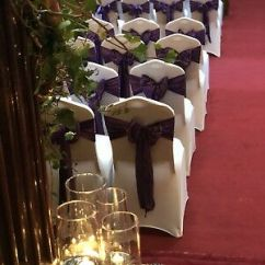 Wedding Chair Cover Hire West Yorkshire Stirling Self Covers Ruffle Hoods Leeds Sashes Bows Organza Hessian Wakefield