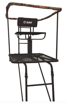 swivel chair tree stand folding no legs xl 360 metal ladder 16 big treestand for deer hunting