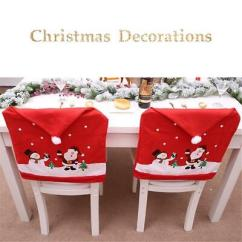 Christmas Chair Back Covers Uk Best Gaming Chairs 2018 Reddit Cover Santa Claus Snowman Decor Home 20pcs Hat Table Decoration Ornaments Dinner