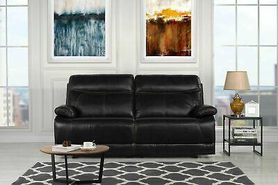 ryker reclining sofa and loveseat 2 piece set sure fit stretch slipcovers leather 926 09 picclick classic match upholstered 74 4 recliner black