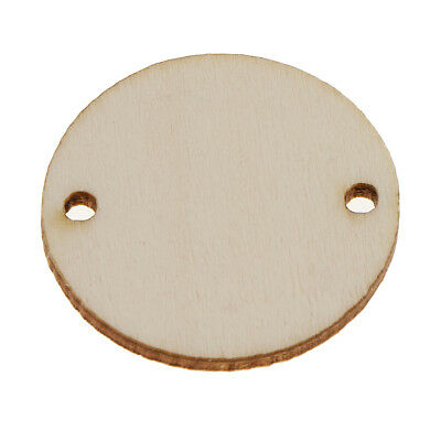 Wooden Circles With Holes