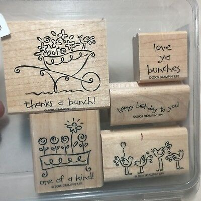 new stampin up thanks