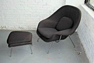 dwr womb chair hanging with stand john lewis authentic knoll saarinen ottoman design within reach no reserve