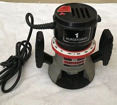 Craftsman Professional 28212 65 Amp Corded Fixed Base Palm Router