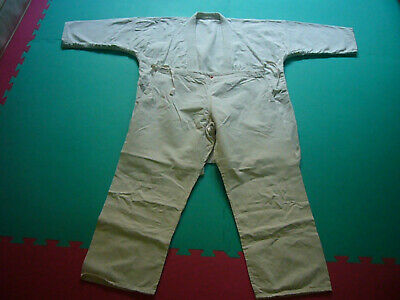 older Judo suit Gi white Rhode (R) size 6 / up to approx. 180 cm