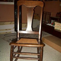 Rocking Chair Cane Little Tikes Art Desk And Antique Seat Early 1900s 36 H 16 W 45 00