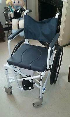 invacare shower chair red high back mariner rehab 18 seat 500 00 picclick