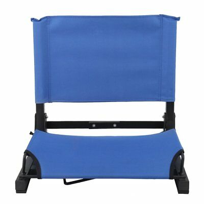 stadium chairs for bleachers with arms best infant beach chair padded seat cushion bleacher folding portable sports football benches ma