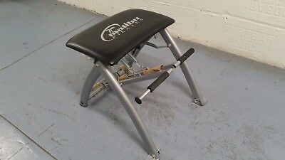 malibu pilates chair high that hangs on table read portable exercise workout fitness machine