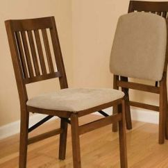 Upholstered Folding Chairs Uk How To Reweb A Lawn Chair Stakmore Comfortable Curved Back Wooden Stackable