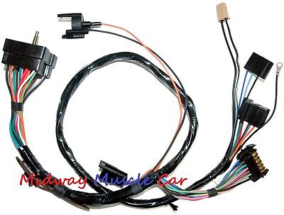 dash cluster wiring harness 1967 67 mustang gt fastback shelby c7zb
