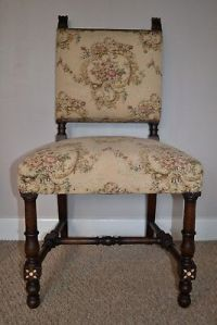 VICTORIAN Tapestry Chairs - 50.00 | PicClick UK
