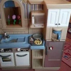 Childrens Toy Kitchen Stoves At Lowes Bbq Two In One Little Tikes 60 00 Picclick Uk