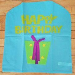 Chair Covers Wish Leeds Birthday Cover Make A Purple New 2 00 Picclick Happy