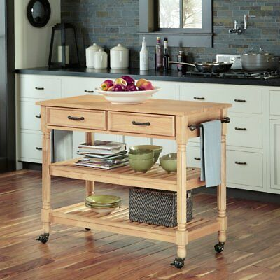 home styles kitchen cart fisher price kitchens savannah natural maple 409 60 picclick