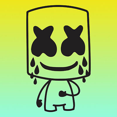 marshmello head logo edm