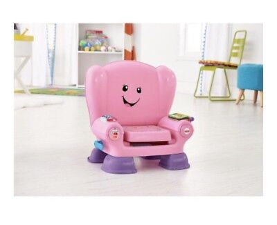fisher price laugh and learn chair pink reading smart stages new 150