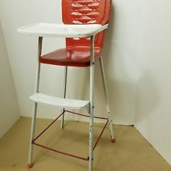 High Chair Converts To Table And Lift London O2 Antique Doll 8 1 2 Small Amoco Metal Vintage Toy