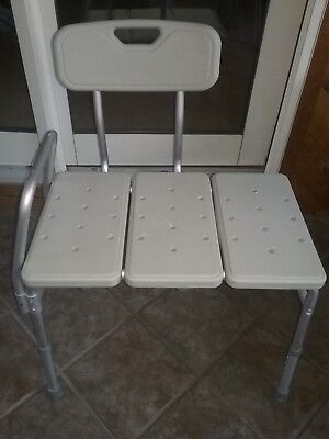 grey bathroom safety shower tub bench chair covers with zip drive medical back