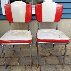 Chrome Kitchen Chairs Lights Home Depot Vintage Original 1950s Howell Chromsteel For Restoration