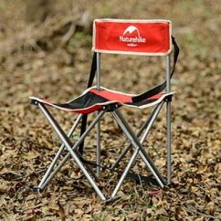 Folding Chair Fishing Pole Holder Top Grain Leather Club Recliner Chairs Rod Holders Hunting Camping W Naturehike Outdoor Lightweight Red Ma