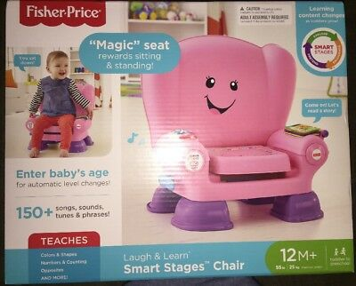 fisher price laugh and learn chair pink osim uastro zero gravity massage smart stages 16 68 picclick
