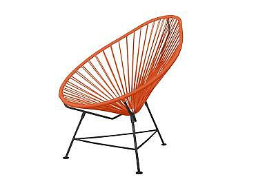 innit acapulco chair lounge umbrella stand designs orange weave on black frame 219 99