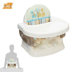 Baby Chairs For Eating White Wooden Chair Activity Booster Playing Table Kids Portable Secure High Seat