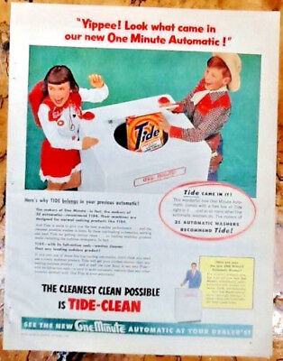 tide laundry detergent ad
