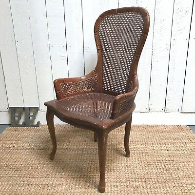chinese chippendale chairs uk black oversized chair lovely vintage style faux bamboo and rattan